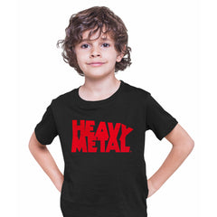 Heavy Metal Comic Book Tee Magazine Superhero comics science fiction & fantasy Black Kids T-Shirt