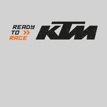 KTM Ready To Race T-Shirt Biker Motorcycle Rider Inspired Racing Bike Cycle Black Unisex Tank Top