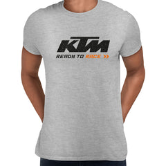 KTM T-SHIRT Ready to Race Inspired motorcycles ALL SIZES M79 Grey Unisex T-Shirt