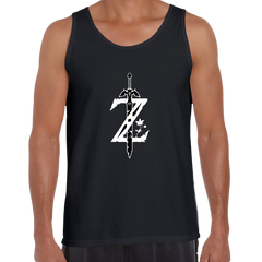 Legend of Zelda GAMING Retro OLD SKOOL Arcade Black Tank Top