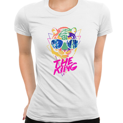Women Lion Tiger The King Amazing summer Ladies T Shirt