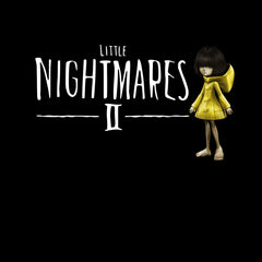 Little Nightmares Six Maw Cool Creepy Inspired Adult Game Unisex T-Shirt Black