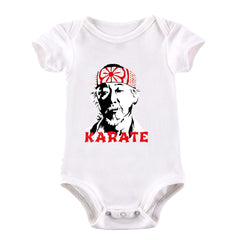 Mr Miyagi Karate Kid 80s Cult Movie White Baby & Toddler Body Suit