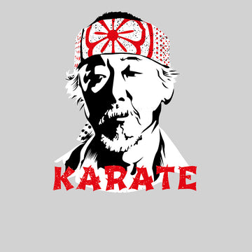 Mr Miyagi Karate Kid 80s Cult Movie Black Unisex Tank Top