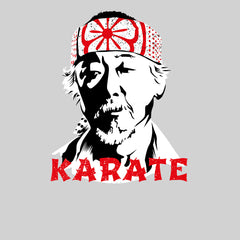 Mr Miyagi Karate Kid 80s Cult Movie White Unisex Tank Top
