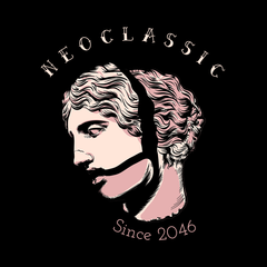 NeoClassic Unique Antic Sculpture Abstract T shirts