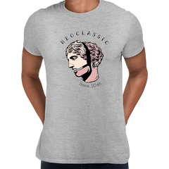 NeoClassic Unique Antic Sculpture Abstract Unisex Grey T-shirt