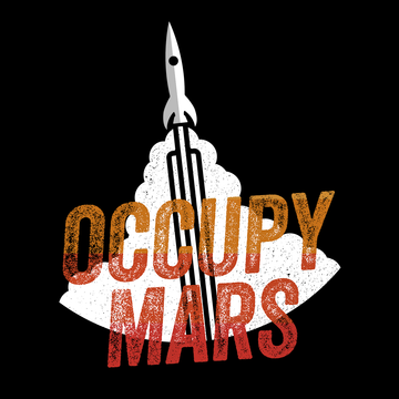 Black & White Tank Top Occupy MARS Nasa Space Project SpaceX Rocket Stars