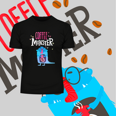 Coffee Monster T-shirts for Caffeine Freaks With An Attitude