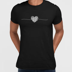PK-98164-Tangled way to the heart - hand drawn scribble Black