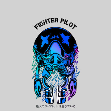 Fighter pilot retro game - Nostalgia T-Shirt 80