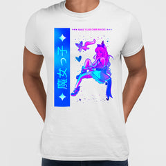 Manga Japanese - Make your own Magic White T-shirt for Japanese culture lovers