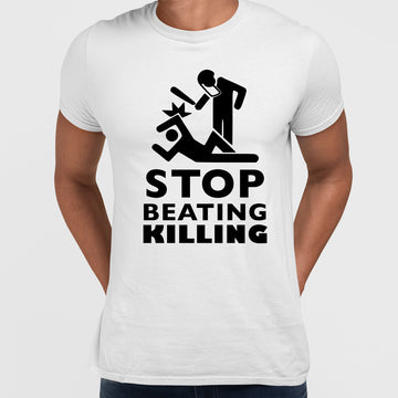 Stop beating killing Black lives matter Black T-Shirt