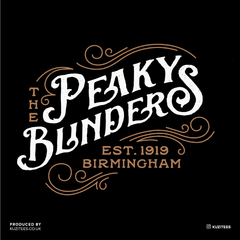 The Peaky Blinders Est Birmingham 1919 Tommy Shelby's Tee
