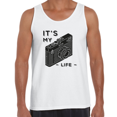 It Is My Life Vintage Old Camera Funny Typography T-shirt For Photographers