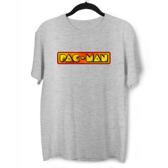 Pac-Man Arcade Retro Atari Game T-shirt for Old Fashion Retro Minds Grey