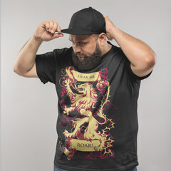 Kuzi Tees Pop Culture T-Shirt Game of Thrones - Hear Me Roar