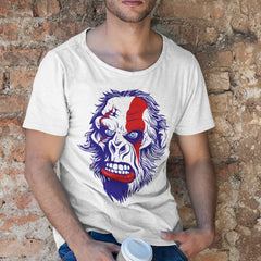 Kuzi Tees Pop Culture T-Shirt God Of War White