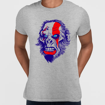 Pop Culture T-Shirt God Of War - Gorilla You can't got wrong, with King Kong!