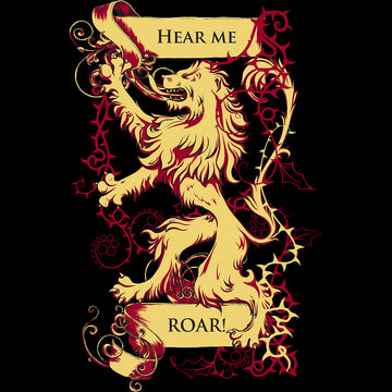 Pop Culture T-Shirt Game of Thrones - Hear Me Roar