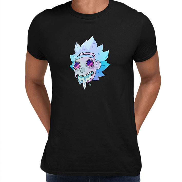 Rick Sanchez Jeez Comedy Science Fiction Crew Mate Funny Black Unisex T-Shirt