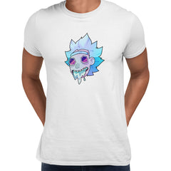 Rick Sanchez Jeez Comedy Science Fiction Crew Mate Funny White Unisex T-Shirt