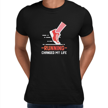 Running Changed my life fitness Inspiring Men Unisex Crew Neck T Shirt