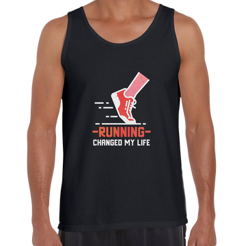 Running Changed my life fitness Inspiring Tank Top