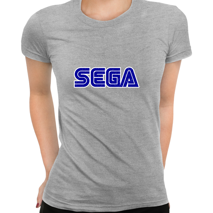 SEGA Old Retro Gaming console Grey T- Shirts for Women OLD SKOOL