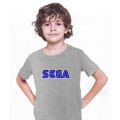 SEGA Old Retro Gaming console Grey T-Shirts for Kids OLD SKOOL
