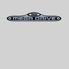 Sega-Mega Drive Black White Grey Computer Unisex T-Shirts OLD SKOOL