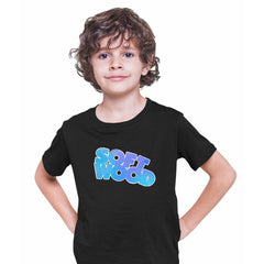 Soft Wood Heavy Metal Magazine Superhero Comics Tee science fiction & fantasy Black Kids T-Shirt