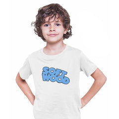 Soft Wood Heavy Metal Magazine Superhero Comics Tee science fiction & fantasy White Kids T-Shirt