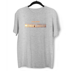 Bounty Hunter The Mandalorian Disney Star Wars Grey T-shirt