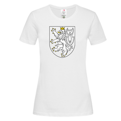 The Coat of Arms of The Czech Republic Political White T-Shirt