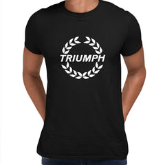 TRIUMPH NEW Trophy male motorcycle engine electric car bonneville bike Black Unisex T-Shirt