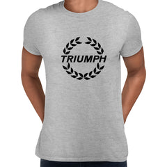 TRIUMPH NEW Trophy male motorcycle engine electric car bonneville bike Grey Unisex T-Shirt