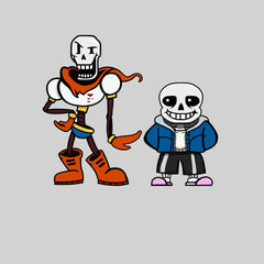 New Kids Undertale Sans Papyrus T-shirt Gaming Boys Girls Christmas Unisex T-shirt White