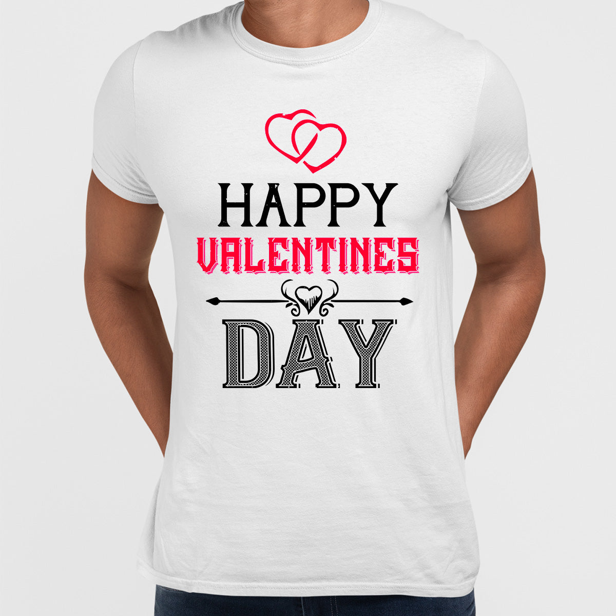 Happy valentine day - valentine's day Unisex T-shirt edition
