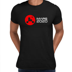 Mars Landing 2021 T-Shirt Space Nasa perseverance Tee Red Planet Unisex Top Black Unisex T-Shirt