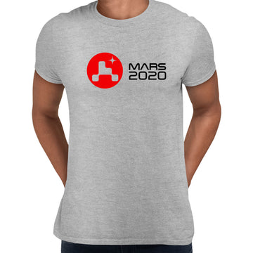 Mars Landing 2021 T-Shirt Space Nasa perseverance Tee Red Planet Unisex Top White Unisex T-Shirt