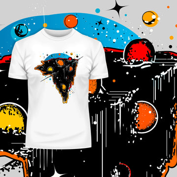 Boundless Universe Melting Abstract Shirt