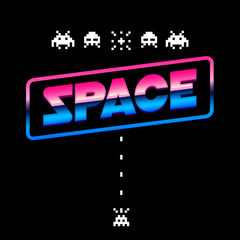 Space Invaders Game Screen Cool Retro Shirt