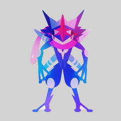Women's Bad Ass Ash Greninja - Eco Pokemon T-Shirt Collection Crew Neck T-shirt