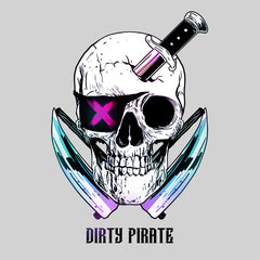 Dirty Pirate Skull T-shirts