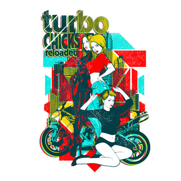 Three-Turbo Chicks