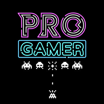 Pro Gamer Invaidors - Retro T-Shirt Collection