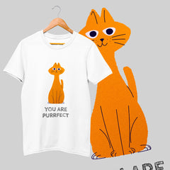 100% Eco T-shirt - You Are Perfect Cat
