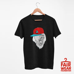 Hip Hop T-Shirt Gorilla with the Hat