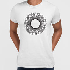 Modern Geometric Elements - Line Dots & Shapes Printed t-shirts Unisex Sample 20
